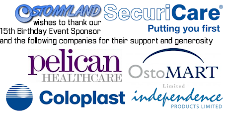 Ostomyland wishes to thank SecuriCare Home Delivery and the following companies for their support and generosity