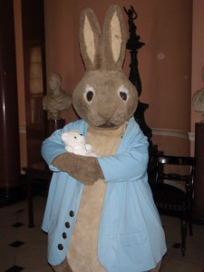 Fuzzbutt meets Peter Rabbit